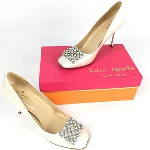 Kate Spade Happy formal bling Stilettos heels